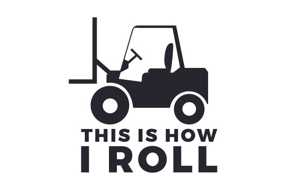 Download Free This Is How I Roll Svg Cut File By Creative Fabrica Crafts for Cricut Explore, Silhouette and other cutting machines.