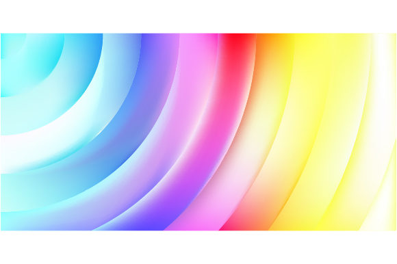 Trendy Gradient Shapes of Background Graphic By MrBrahmana