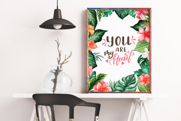 Tropical Dream-watercolor Set Graphic By tregubova.jul Image 3