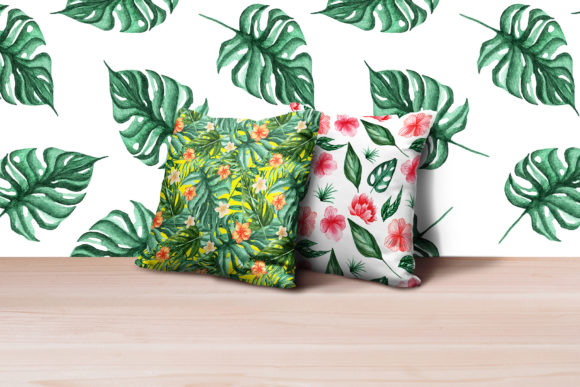 Tropical Dream-watercolor Set Graphic By tregubova.jul Image 4