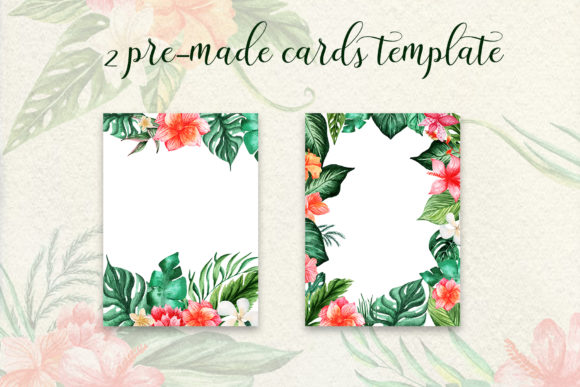 Tropical Dream-watercolor Set Graphic By tregubova.jul Image 6