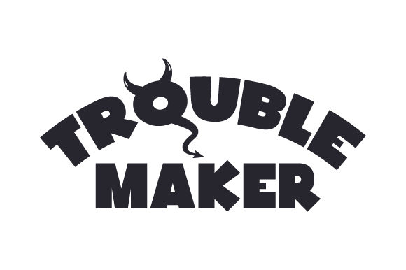 Download Free Trouble Maker Svg Cut File By Creative Fabrica Crafts Creative for Cricut Explore, Silhouette and other cutting machines.