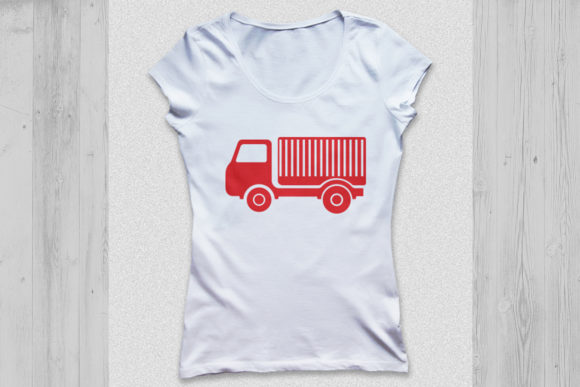 Download Free Truck Monogram Graphic By Cosmosfineart Creative Fabrica for Cricut Explore, Silhouette and other cutting machines.