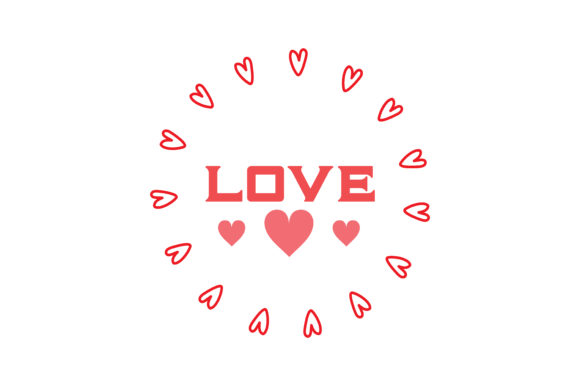 Print on Demand: Valentine's Day SVG Bundle Graphic Crafts By TheLucky - Image 19