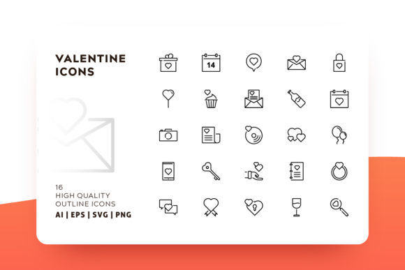 Valentine Icon Pack Graphic Icons By Goodware.Std