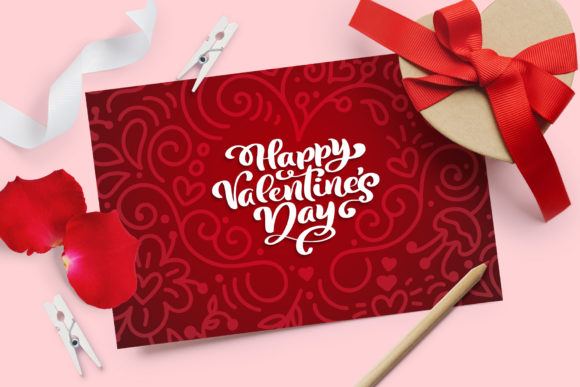 Valentine Vector Greeting Cards Graphic Illustrations By Happy Letters - Image 3