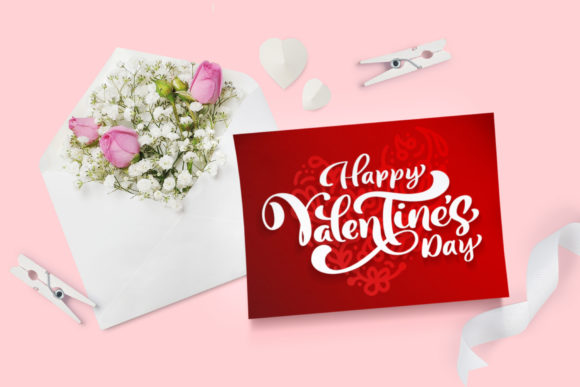 Valentine Vector Greeting Cards Graphic Illustrations By Happy Letters - Image 6