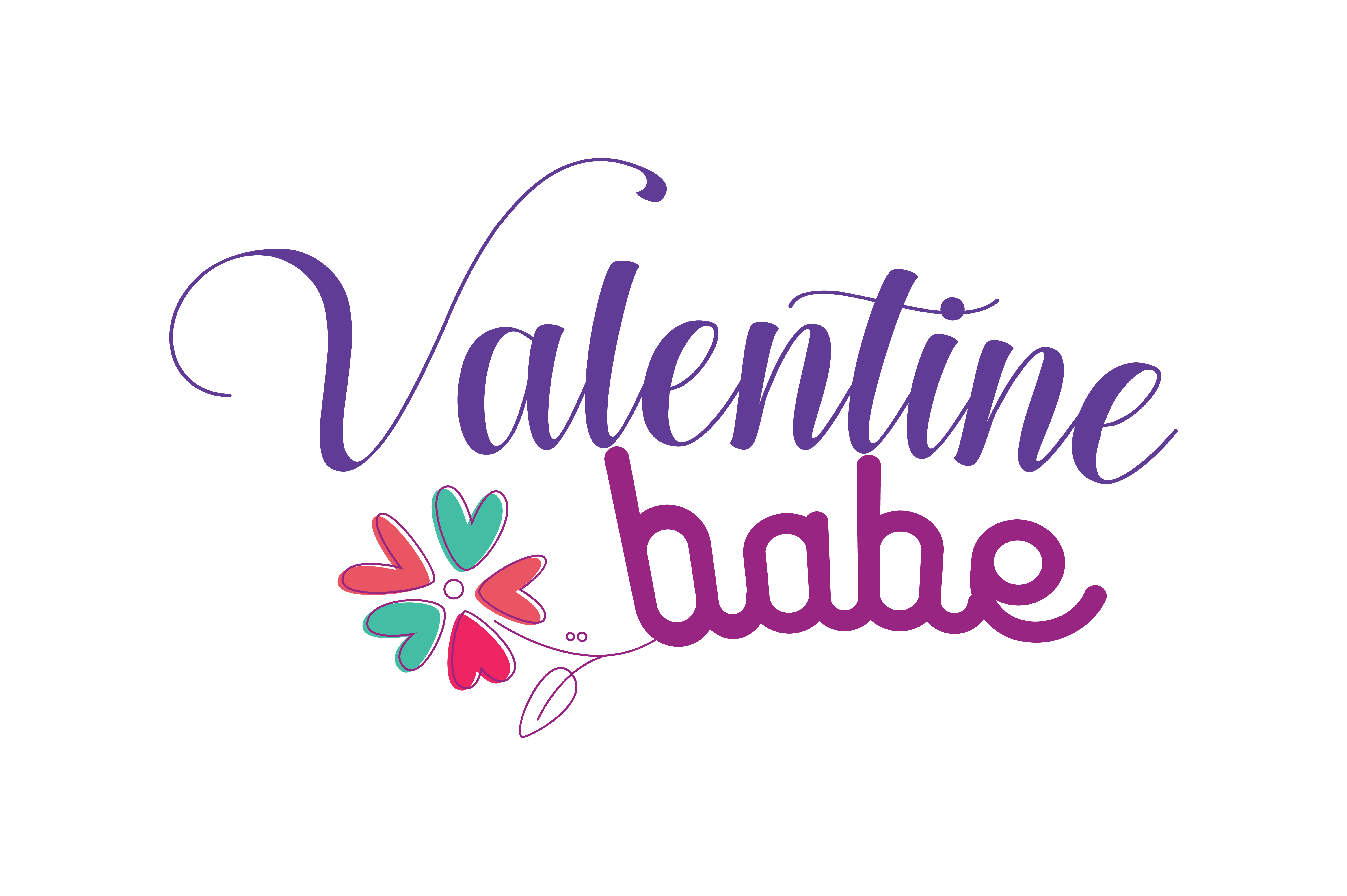Download Free Valentine Babe Quote Svg Cut Graphic By Thelucky Creative Fabrica for Cricut Explore, Silhouette and other cutting machines.