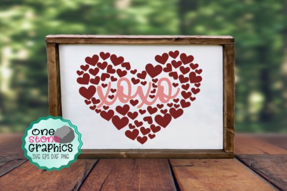Valentine Svg Graphic Crafts By OneStoneGraphics