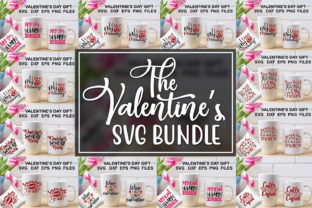Valentine's Day Bundle Graphic Illustrations By Graphicsqueen