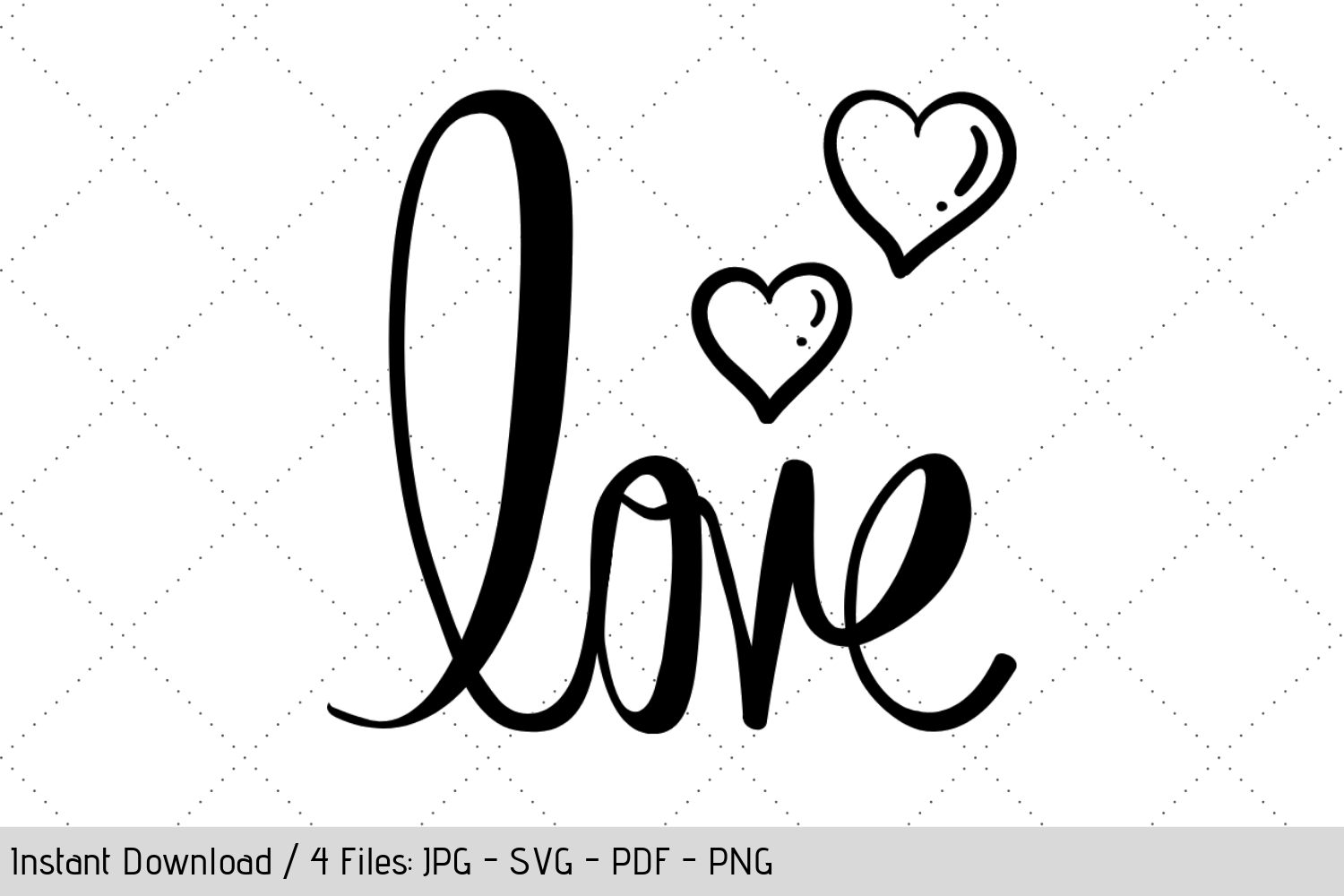 Download Free Valentine S Love Graphic By Werk It Girl Supply Creative Fabrica for Cricut Explore, Silhouette and other cutting machines.