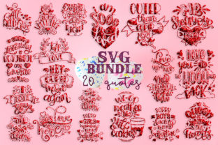 Valentine's Day Bundle Graphic By SVG Story