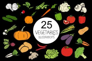Vegetables 25 Different Types of Garden Plants Graphic By bywahtung