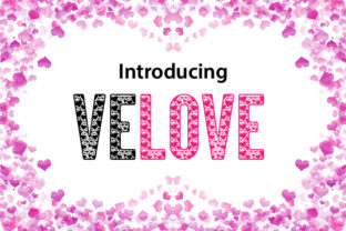 Velove Decorative Font By da_only_aan
