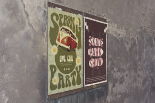 Print on Demand: Venetian Simply Wall | Poster Mockup Graphic Product Mockups By SmartDesigns