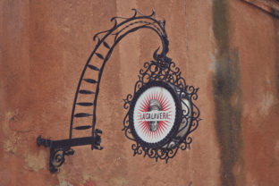 Print on Demand: Venetian Wrought Iron Light Sign Graphic Product Mockups By SmartDesigns