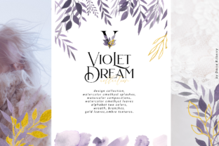 Violet Dream Collection Graphic By BilberryCreate
