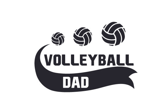 Volleyball Dad Sports Craft Cut File By Creative Fabrica Crafts