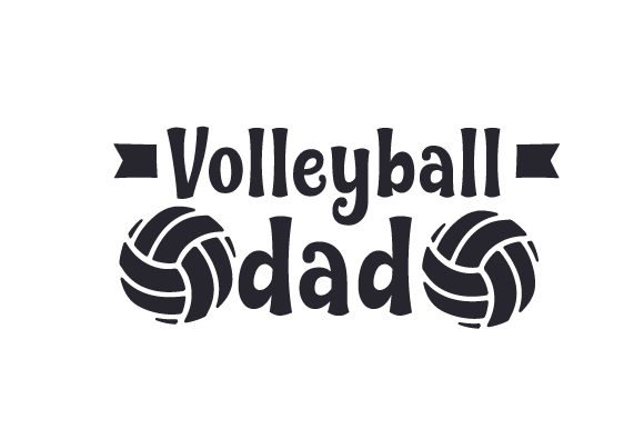 Download Free Volleyball Dad Svg Cut File By Creative Fabrica Crafts SVG Cut Files