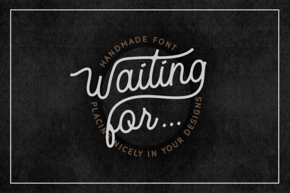 Waiting for Font By Dani (7NTypes) Image 4