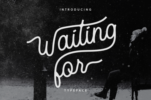 Print on Demand: Waiting for Script & Handwritten Font By Dani (7NTypes)