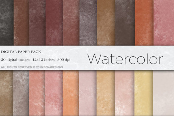 Download Free Watercolor Digital Papers Watercolor Background Graphic By SVG Cut Files