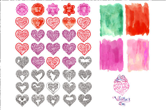 Download Free Watercolor And Vector Of Heart Graphic By Graphobia Creative for Cricut Explore, Silhouette and other cutting machines.