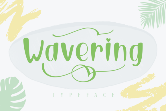 Print on Demand: Wavering Script & Handwritten Font By Rifki (7ntypes) - Image 1