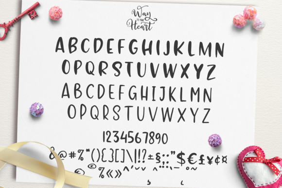 Print on Demand: Way to the Heart Duo Script & Handwritten Font By Pasha Larin - Image 12