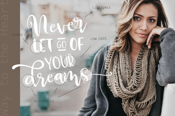 Print on Demand: Way to the Heart Duo Script & Handwritten Font By Pasha Larin - Image 3