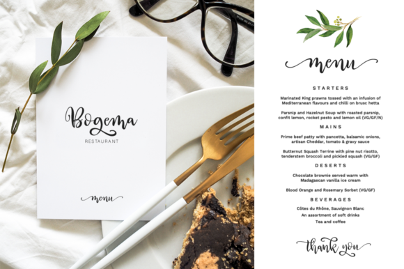 Print on Demand: Way to the Heart Duo Script & Handwritten Font By Pasha Larin - Image 4