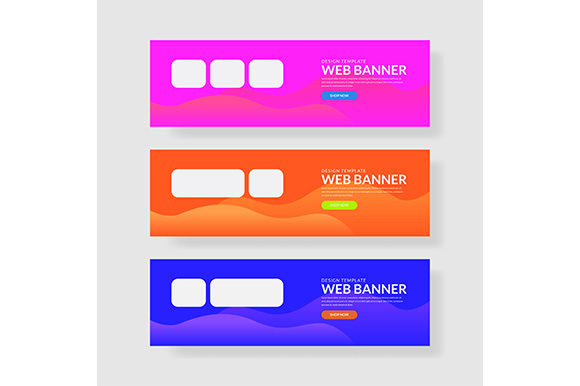 Web Banner Template Header Landingpage Website