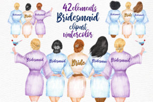 Print on Demand: Wedding Clipart Graphic Illustrations By LeCoqDesign