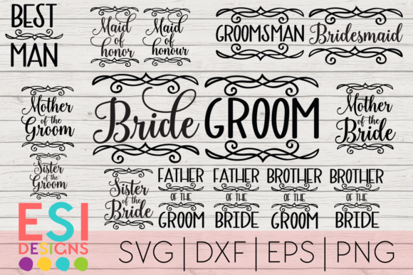Wedding Mini Bundle  Graphic Crafts By ESI Designs
