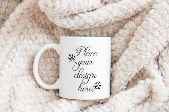 Print on Demand: White Coffee Mug Mockup Graphic Product Mockups By Leo Flo Mockups