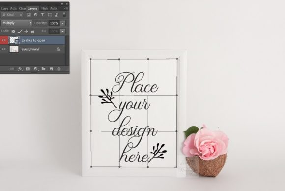 Download Free White Modern Frame Mockup Graphic By Leo Flo Mockups Creative for Cricut Explore, Silhouette and other cutting machines.