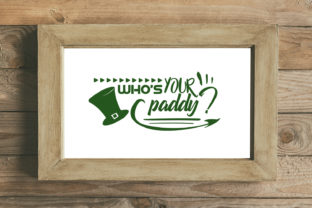 Who's Your Paddy Graphic By summersSVG