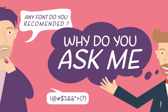 Print on Demand: Why Do You Ask Me Script & Handwritten Font By Situjuh