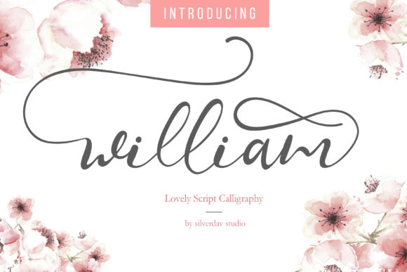 Print on Demand: William Script & Handwritten Font By silverdav