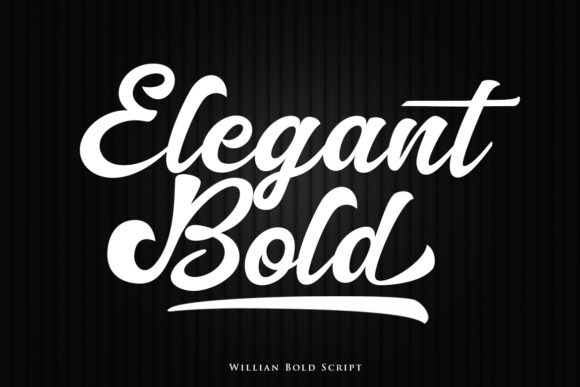 Print on Demand: Willian Script Script & Handwritten Font By Lettersiro Co. - Image 2