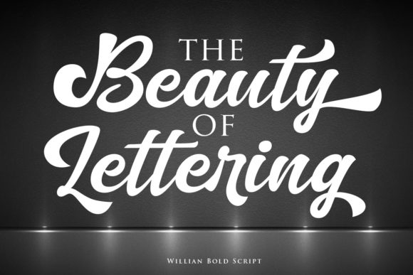 Print on Demand: Willian Script Script & Handwritten Font By Lettersiro Co. - Image 4