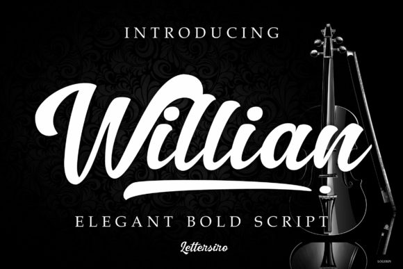 Print on Demand: Willian Script Script & Handwritten Font By Lettersiro Co. - Image 1