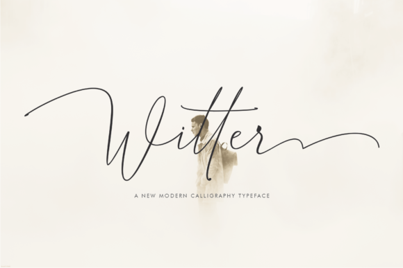 Print on Demand: Witter Script & Handwritten Font By Danti
