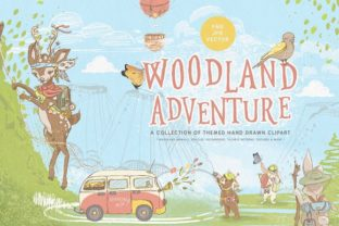 Print on Demand: Woodland Adventures Graphic Illustrations By Anna Babich