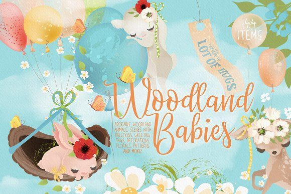 Woodland Babies Graphic By Anna Babich