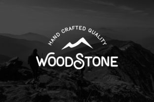 Woodstone Font By Jimmy Indra