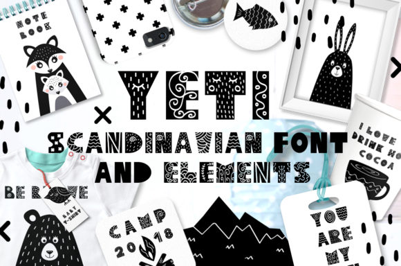 Print on Demand: Yeti Script & Handwritten Font By Juliya Kochkanyan