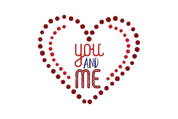 Download Free You And Me Quote Svg Cut Graphic By Thelucky Creative Fabrica for Cricut Explore, Silhouette and other cutting machines.