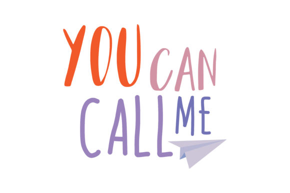 Download Free You Can Call Me Quote Svg Cut Graphic By Thelucky Creative Fabrica for Cricut Explore, Silhouette and other cutting machines.