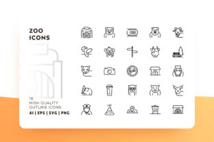 Zoo Icon Icon Pack Graphic By Goodware.Std